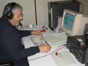 Tony Ceccoli T77C trasmette dal RadioClub